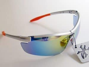 X-Loop Sport Multicolor Mirror (sølv) - Sport solbrille