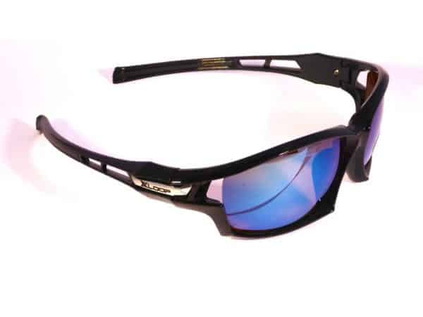 X-loop Sport Blue Mirror (svart) - Sport solbrille