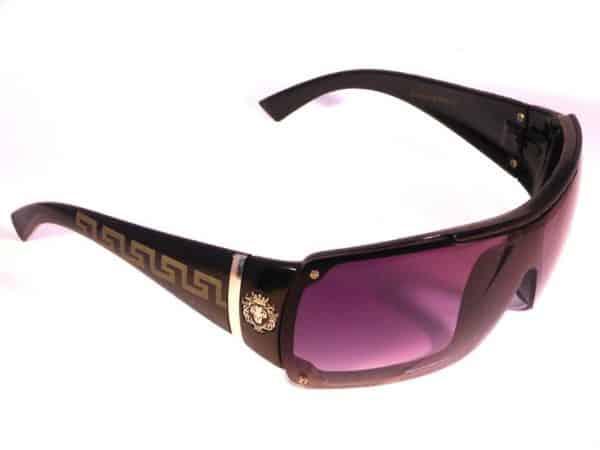 Designersolbrille (svart) - Fashion solbrille