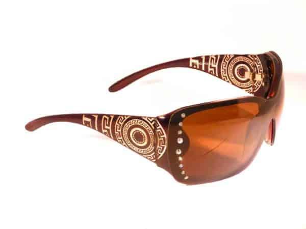 Designersolbrille (svart) - Fasihon solbrille