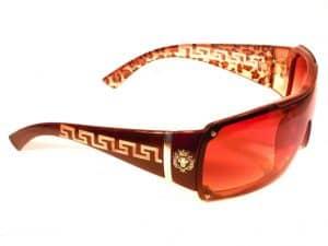Designersolbrille (brun) - Fashion solbrille