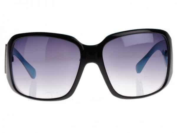 Tattoo Old School (svart/blå) - Tattoo solbrille