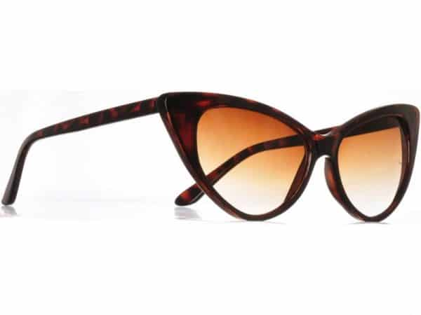 Cateye Classic (brun) - Fashion solbrille