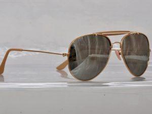 Pilot Gold Mirror - Pilot solbrille