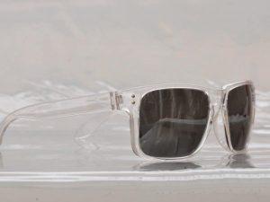Vegas Silver Mirror (blank) - Sport solbrille