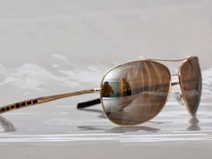 Air Force Pilot (gold) - Pilot solbrille