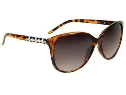 Cateye Retro Fashion (brun) - Retro solbrille