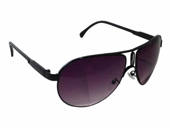 Aviator Sport Purple (svart) - Retro solbriller
