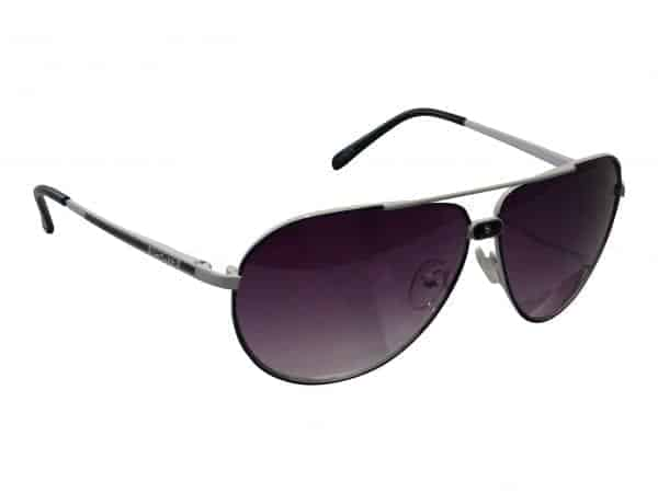 Aviator Sport Small (hvit) - Retro solbrille