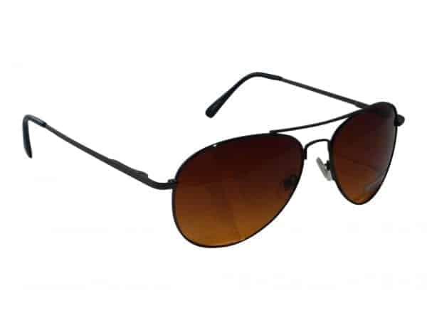 Pilot Brown (svart) - Pilot solbrille
